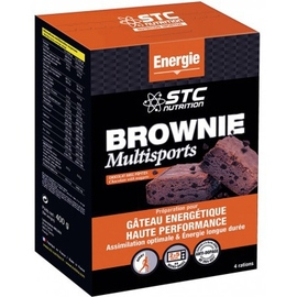 Stc nutrition brownie multisports 400g - divers - stc nutrition -140350