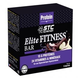 Stc nutrition elite fitness bar chocolat x5 - divers - stc nutrition -189956
