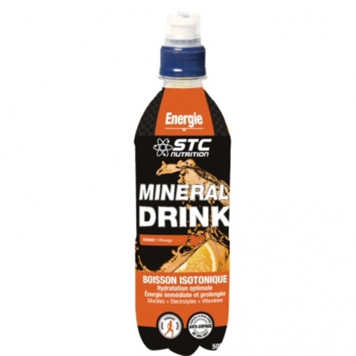 Stc nutrition minéral drink orange 500ml Stc nutrition-143511