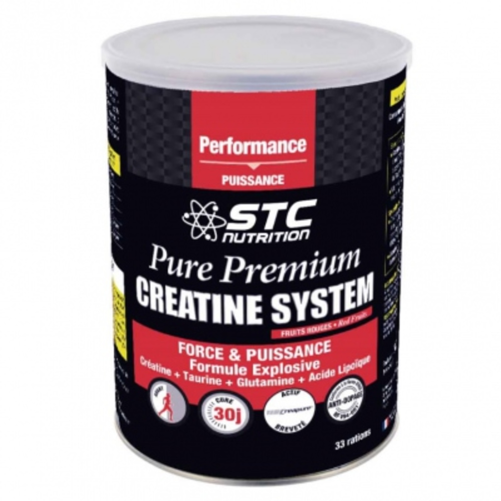 Stc nutrition pure premium creatine system - 500.0 g - stc nutrition Optimise les performances sportives-11364