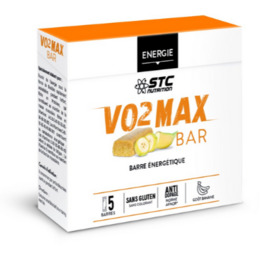 Stc nutrition vo2 max bar banane x5 - divers - stc nutrition -189955