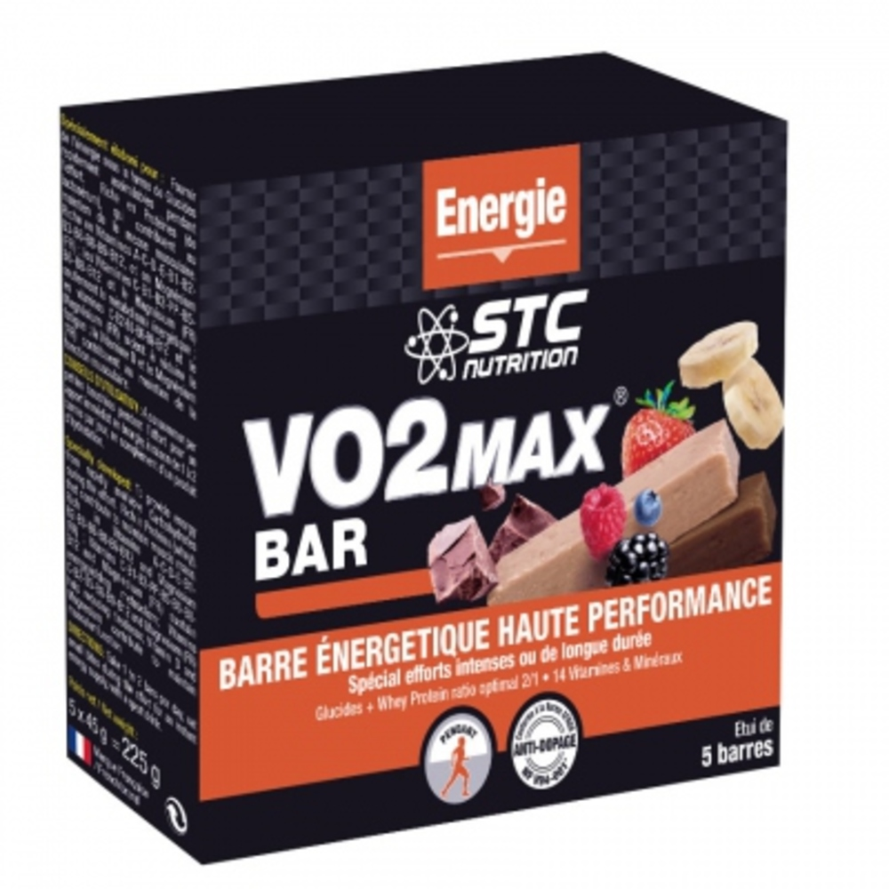 Stc nutrition vo2 max bar fruits rouges x5 - stc nutrition -201876