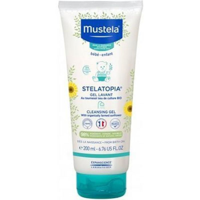 Stelatopia gel lavant 200ml Mustela-228647