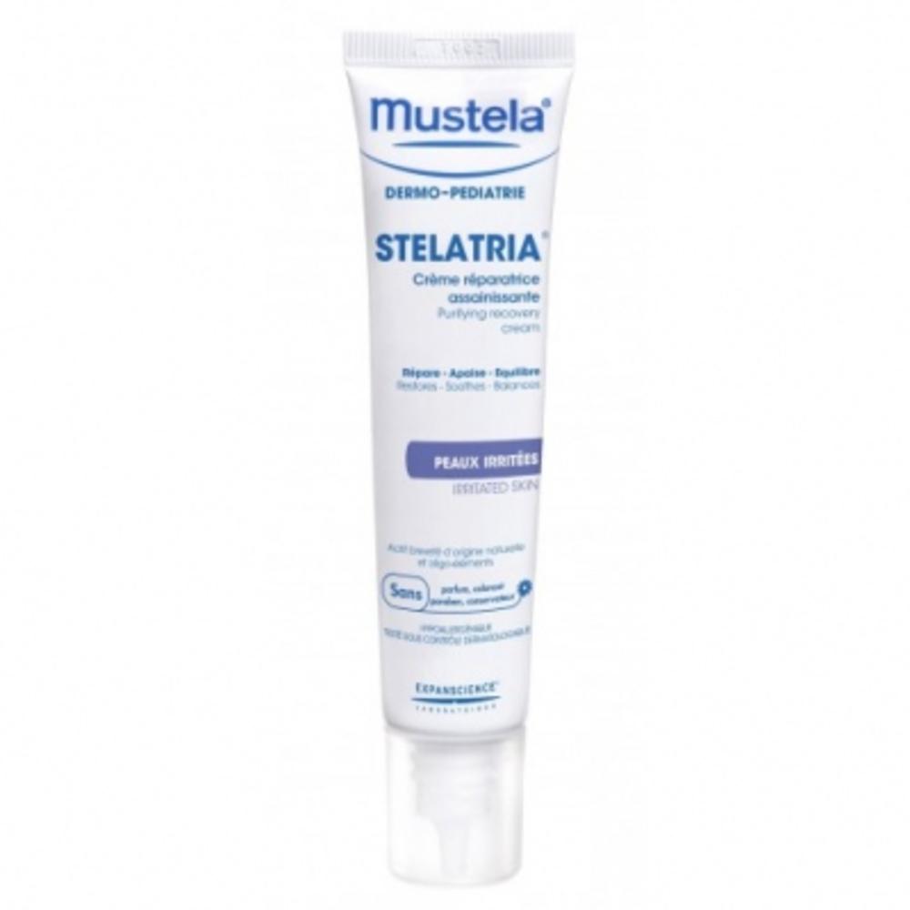 Stelatria crème réparatrice assainissante - 40.0 ml - dermo-pédiatrie - mustela -17307