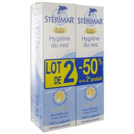 Sterimar bébé hygiène du nez 2x100ml - 100.0 ml - hygiène nasale - sterimar -112539
