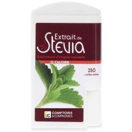 Stévia - 250 pastilles - divers - comptoirs & compagnies -134759