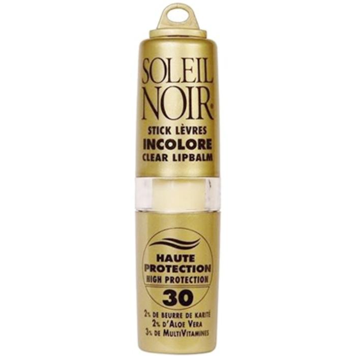 Stick lèvres incolore ip 30 Soleil noir-195887