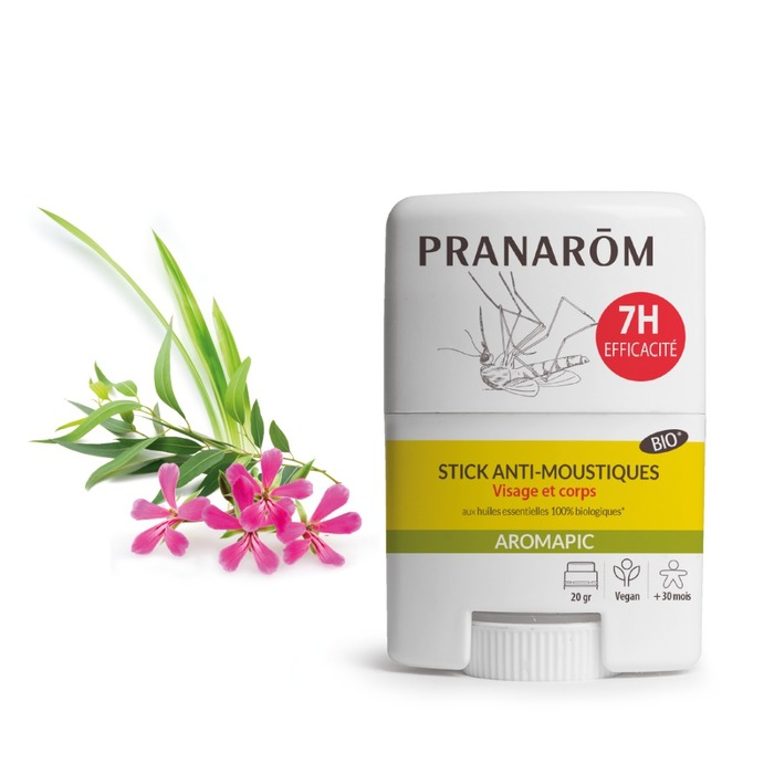 Stick visage et corps - anti-moustiques Pranarom-229781