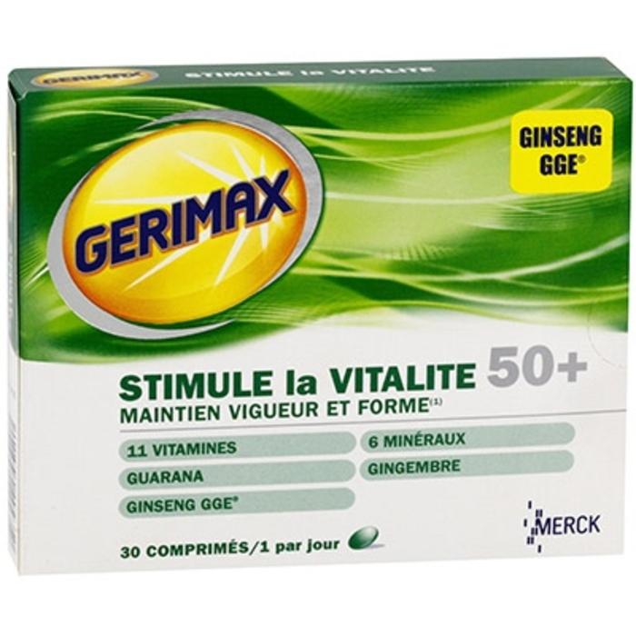Stimule la vitalité 50+ Gerimax-215378