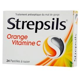 Strepsils orange vitamine c - reckitt benckiser -192744