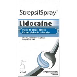 Strepsilspray lidocaïne - 20.0 ml - reckitt benckiser -192850