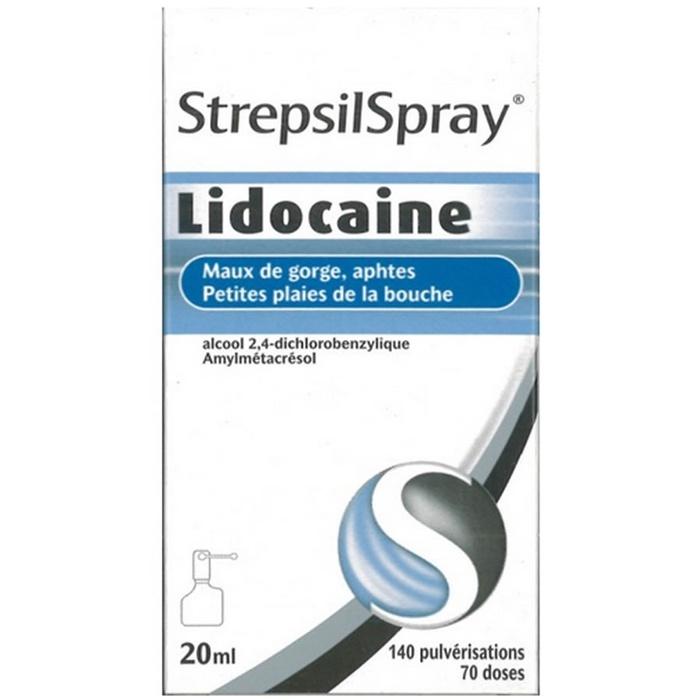 Strepsilspray lidocaïne Reckitt benckiser-192850