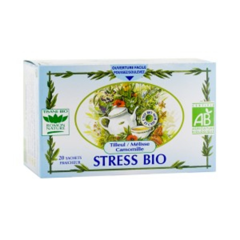 Stress - 20.0 unites - tisanes complexes bio - romon nature -16182