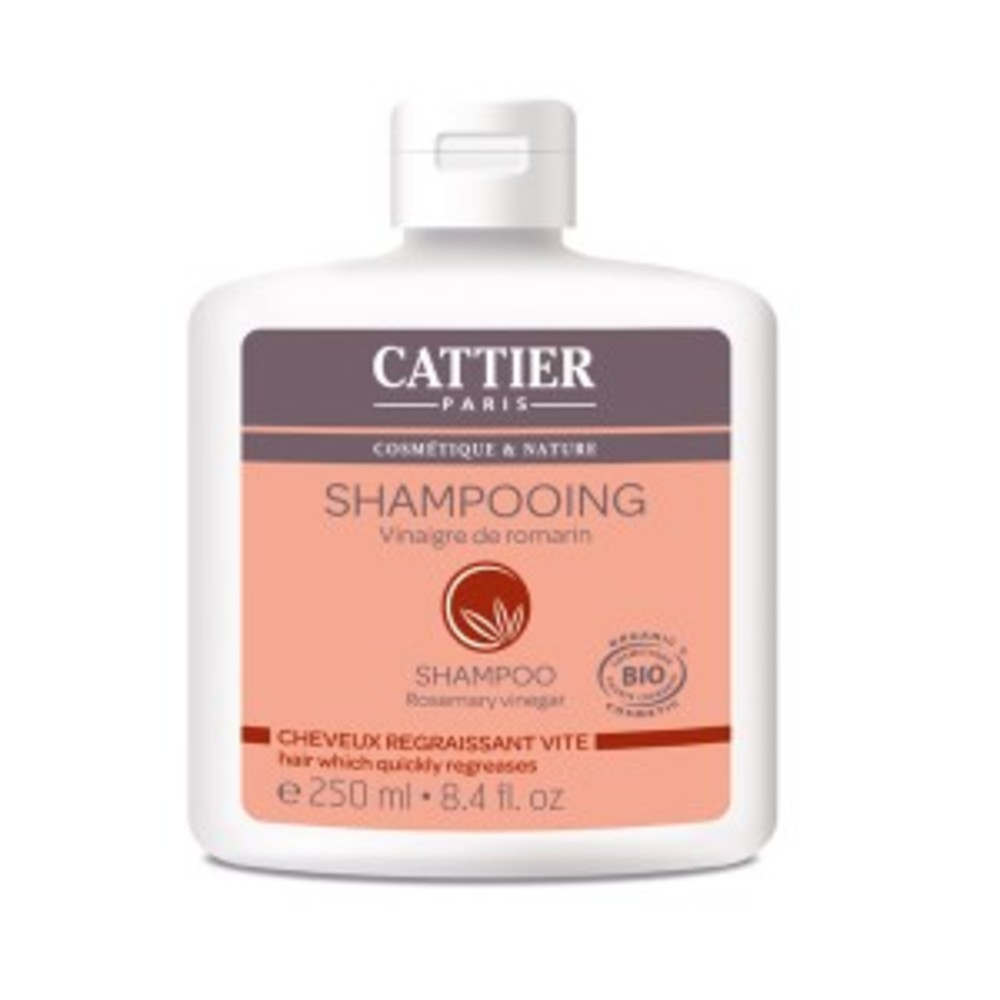 Suc au vinaigre de romarin bio - 250.0 ml - shampooings - cattier Cheveux gras-1516