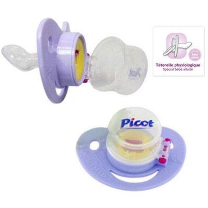 Sucette doseuse pour médicaments 0-6 mois Picot-146078