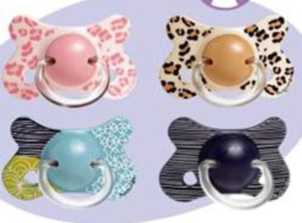 Sucette reversible silicone +12m - sucettes - bebisol Téterelle renforcée pour les dents de bébé-141481
