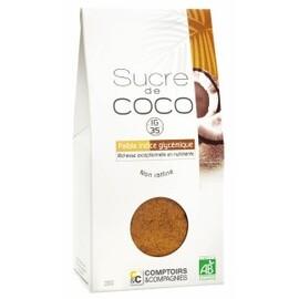 Sucre de fleurs de noix de coco bio - 200g - divers - comptoirs & compagnies -134768