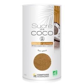 Sucre de fleurs de noix de coco bio - 400 g - divers - comptoirs & compagnies -140812