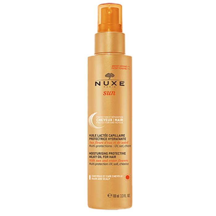 Sun huile lactée capillaire 100ml Nuxe-149822