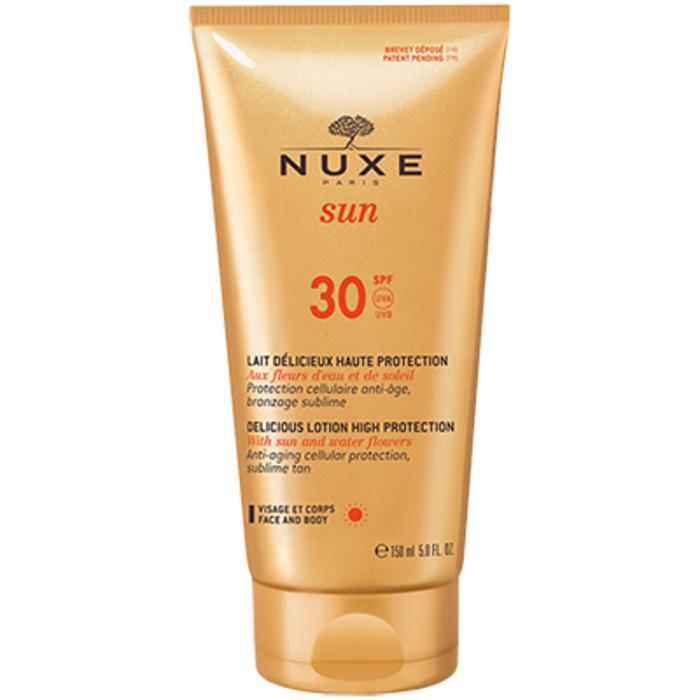 Sun lait délicieux visage et corps spf30 150ml Nuxe-144477