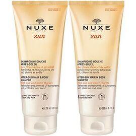 Sun shampooing douche après-soleil 2x200ml - nuxe -220484