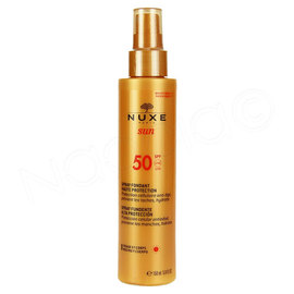Sun spf50 spray fond vis corp fl/ - 150.0 ml - nuxe -221795