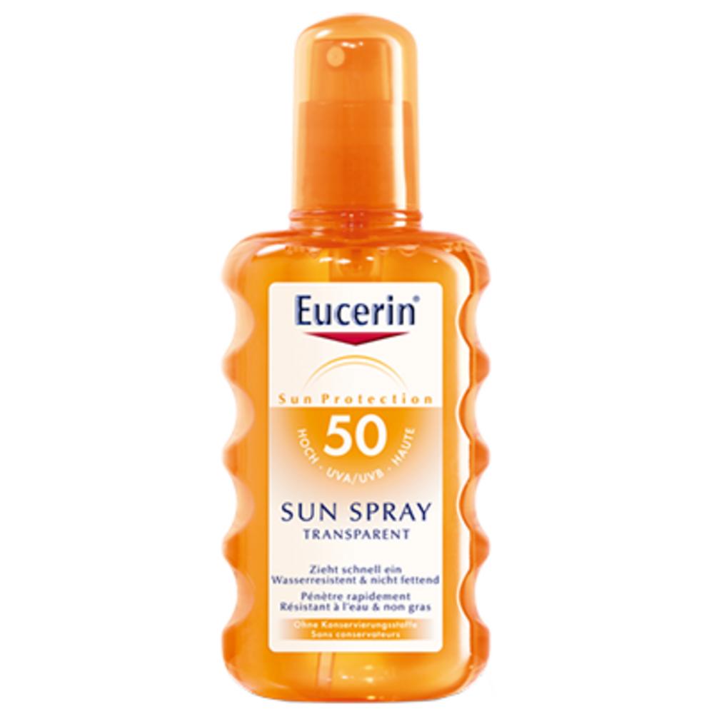 Sun spray transparent spf 50 - eucerin -196315