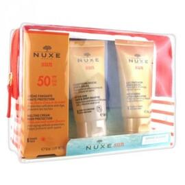 Sun trousse crème spf50 50ml + shampooing 50ml + après-soleil 50ml - nuxe -213897