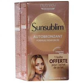 Sunsublim autobronzant 2x28 capsules - nutreov -196635