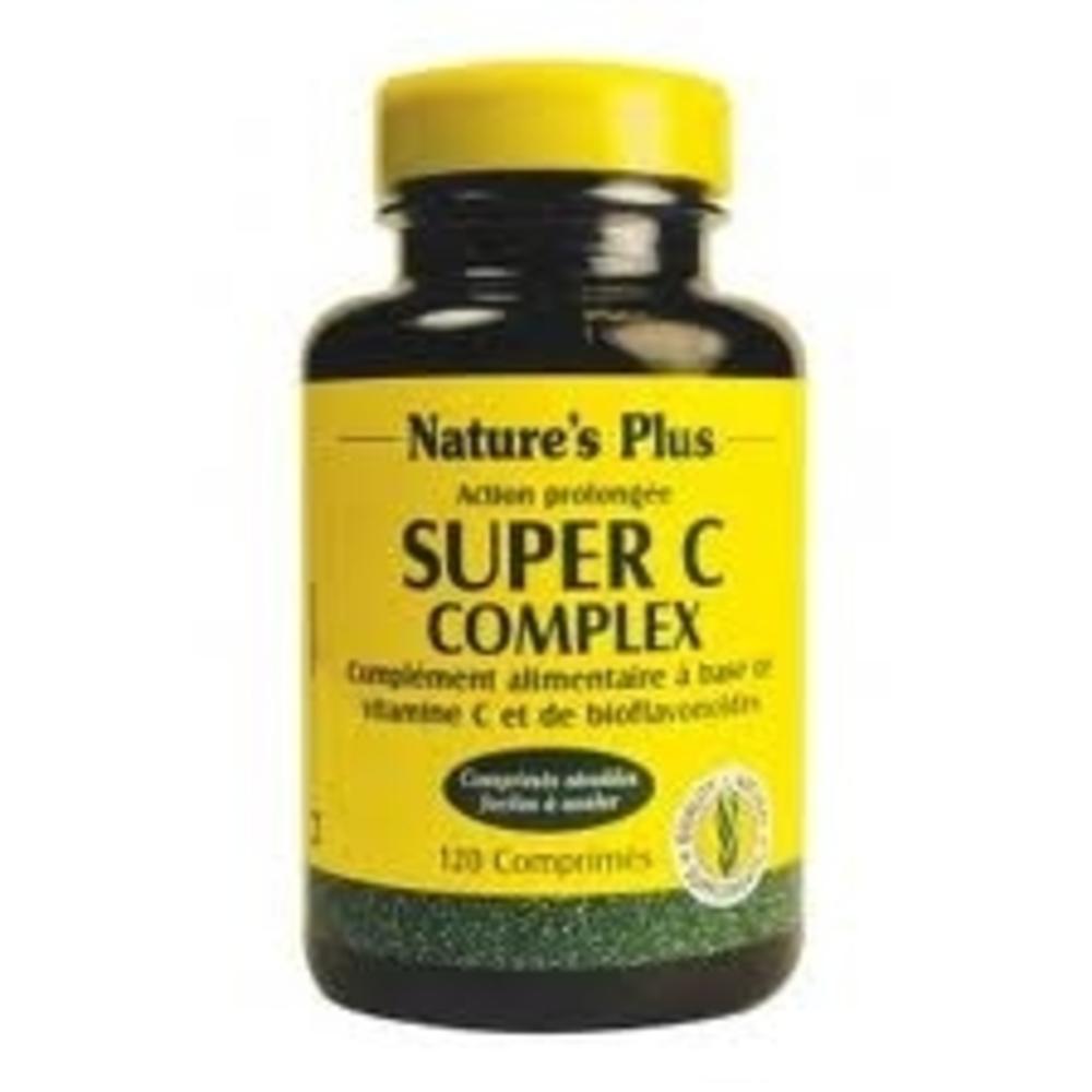 SUPER C COMPLEX ACTION PROLONGEE - 120.0 unites - Nature Plus -8738