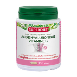 Super diet acide hyaluronique - 150 gélules - 150.0 unites - les super nutriments - super diet -125777