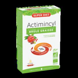 Super diet actimincyl bio 20 ampoules - 20.0 unites - minceur - super diet -11085