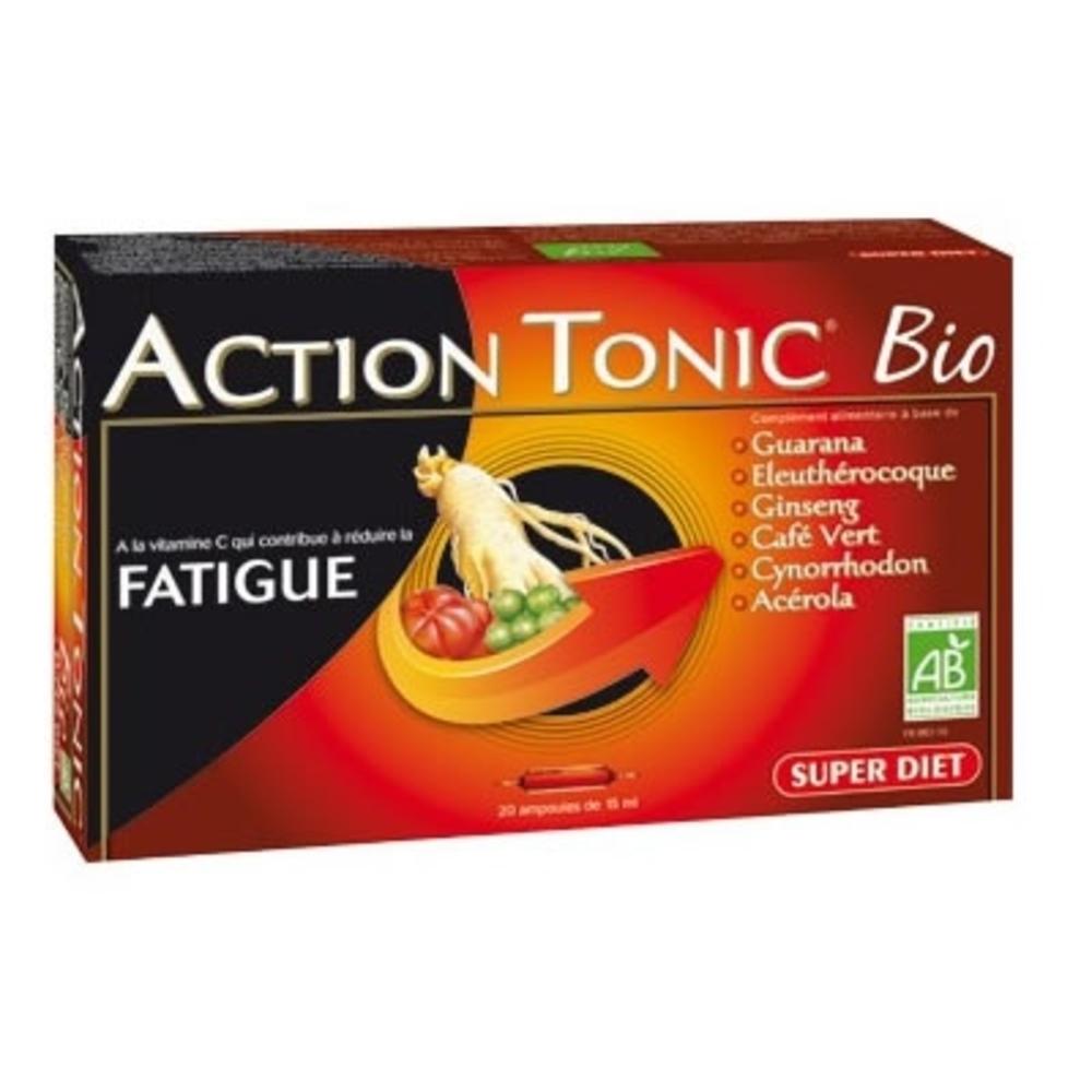Super diet action tonique bio - 20.0 unites - la gamme vitalité - super diet -142687