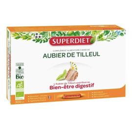 Super diet aubier de tilleul - 20 ampoules - 20.0 unites - digestion bien être - super diet Allié du foie-4441