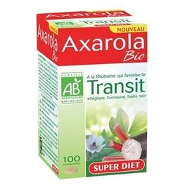 Super diet axarola bio - 100 comprimés - 100.0 unites - transit - super diet A la Rhubarbe-8164