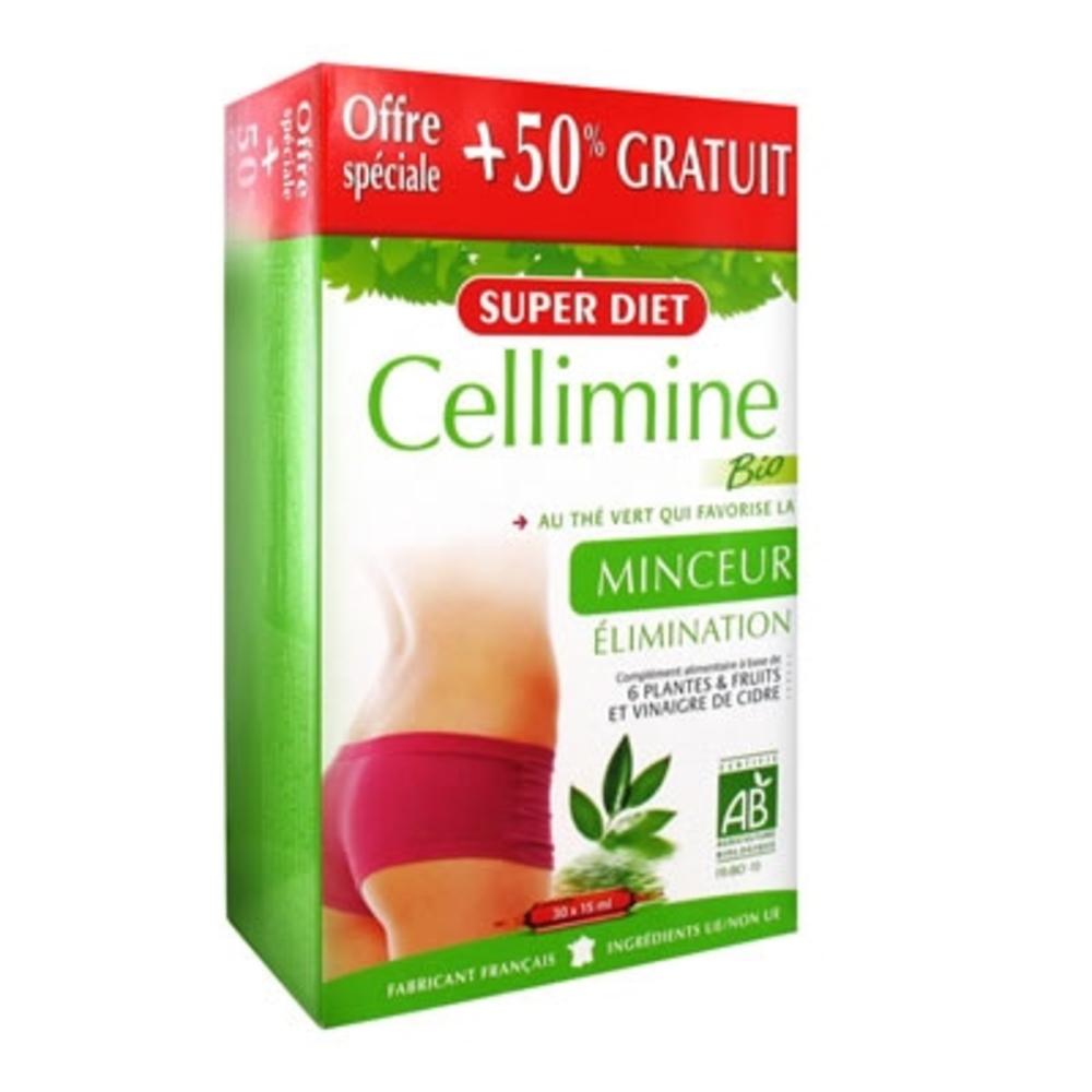 super diet cellimine 20 ampoules 10 offertes 30 0 unites minceur super diet achat au. Black Bedroom Furniture Sets. Home Design Ideas