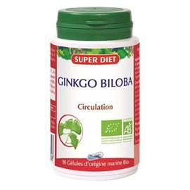 Super diet ginkgo biloba - 90 gélules - 90.0 unites - les gélules de plantes bio - super diet -11099