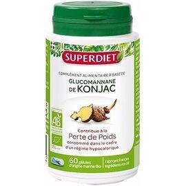 Super diet konjac bio 90 gélules - super diet -220575