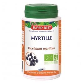 Super diet myrtille - gélules - 90.0 unites - les gélules de plantes bio - super diet antioxydant et vision-11106