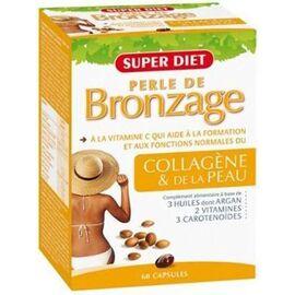 Super diet perles de bronzage 60 capsules - 60.0 unites - cosmétique orale - super diet Soleil et éclat-1384
