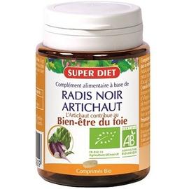 Super diet radis noir & artichaut bio - 80.0 unites - digestion - foie - super diet Bon fonctionnement du foie-4490