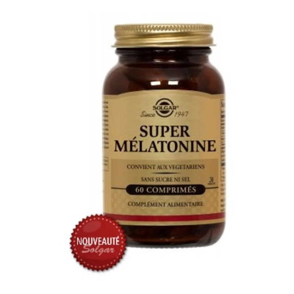 SUPER MELATONINE 1,9mg - Solgar -197295