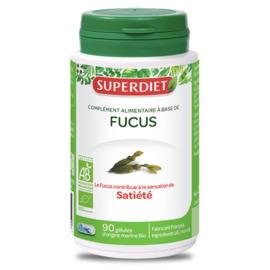 Superdiet fucus - 90 gelules - 90.0 unites - les gélules de plantes bio - super diet Satiété, Coupe faim-138943