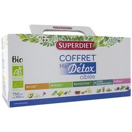 Superdiet ma détox ciblée bio coffret - super diet -225295