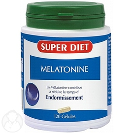 Superdiet mélatonine - 120 gélules - 120.0 unites - les super nutriments - super diet -140607