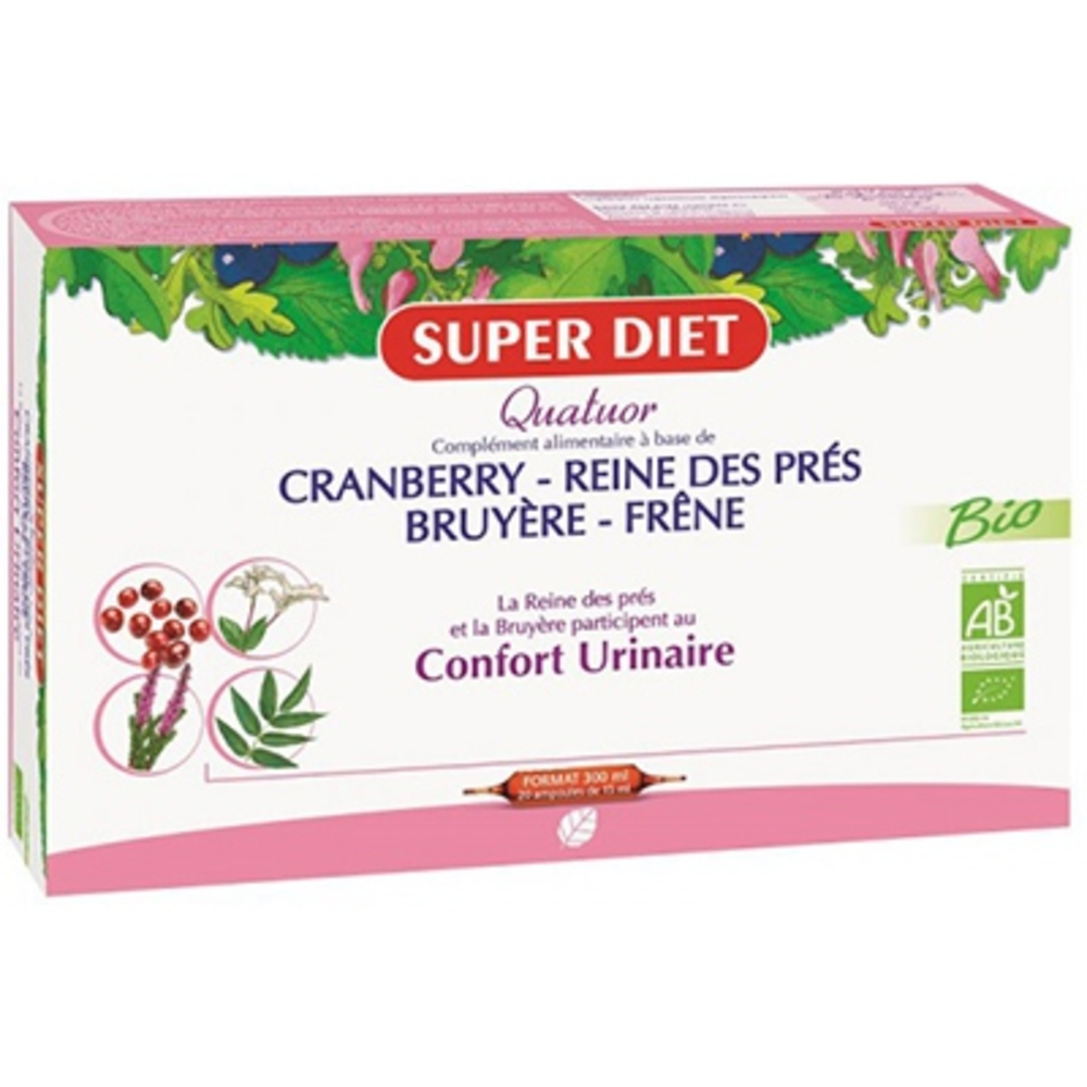 Superdiet quatuor confort urinaire Super diet-139320