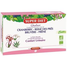 Superdiet quatuor confort urinaire - 20.0 unites - les quatuors - super diet -139320