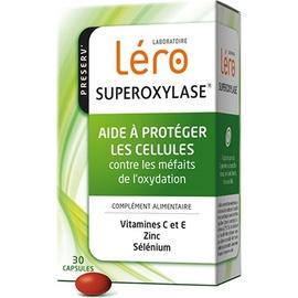 Superoxylase antioxydant 30 capsules - lero -197568
