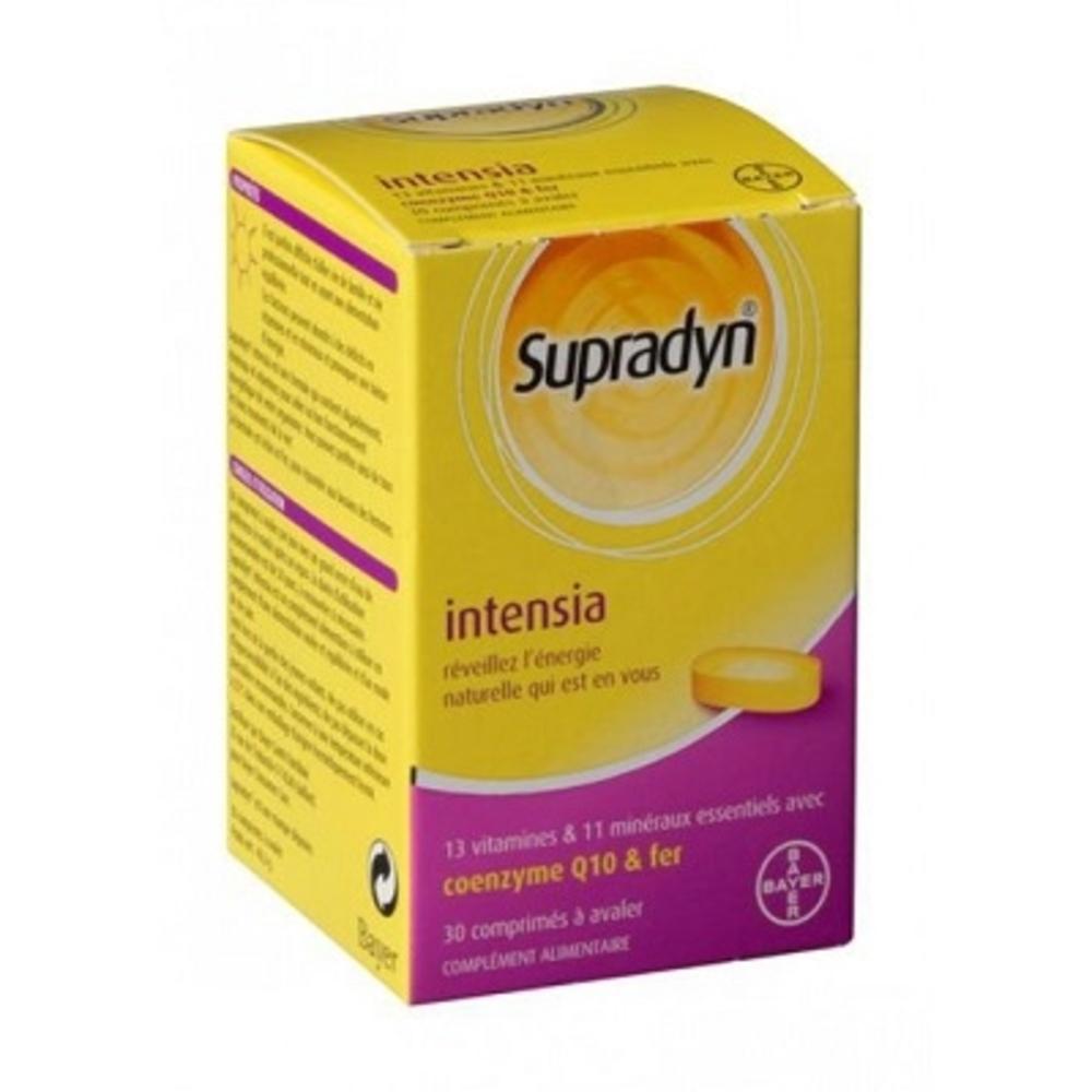 Supradyn intensia - 30 comprimés à avaler - bayer -82162