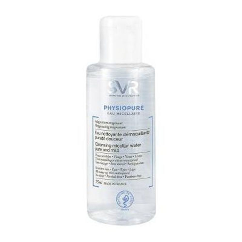 Svr physiopure eau micellaire 75ml - svr -214229